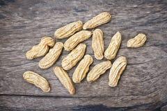 Gekochte Erdnüsse Stockfoto