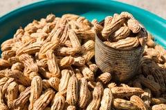 Gekochte Erdnüsse Stockfotos