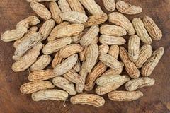 Gekochte Erdnüsse Stockfotografie