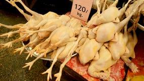 Gekochte Hühner Lizenzfreies Stockfoto