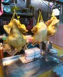 Gekochte Hühnerthailändische chinesische Küche Stockfoto