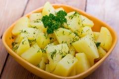 Gekochte Kartoffeln Lizenzfreie Stockbilder