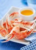 Gekochte Krabbe Stockfotos