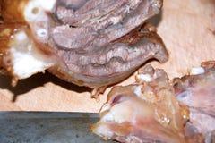 Gekochte Rindfleischprodukte Stockfotografie