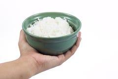 Gekochter Reis Lizenzfreie Stockfotos