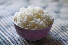 Gekochter Reis Lizenzfreies Stockbild