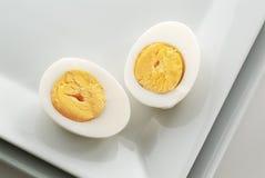 Gekochtes Ei Stockbild