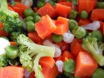 Gekochtes Gemüse Stockfotografie