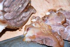 Gekochtes Rindfleisch Stockfoto