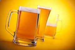 Gekoeld bier royalty-vrije stock afbeelding
