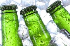 Gekoeld bier Stock Foto's