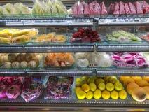Gekoeld fruit royalty-vrije stock foto