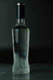 Gekoelde fles wodka. stock foto