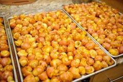 Gekookt poatatoes Royalty-vrije Stock Foto's
