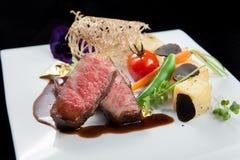 Gekookt rundvlees Stock Afbeelding