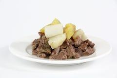 Gekookt rundvlees stock fotografie