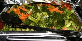 Gekookt veggies royalty-vrije stock foto