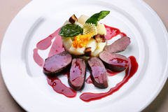 Gekookt vlees Royalty-vrije Stock Fotografie