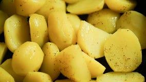 Gekookte aardappel Stock Fotografie