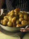 Gekookte aardappels Royalty-vrije Stock Foto's