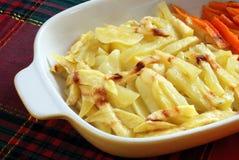 Gekookte aardappels Royalty-vrije Stock Afbeelding