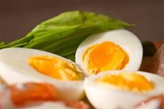 Gekookte eieren Royalty-vrije Stock Afbeelding