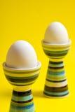 Gekookte eieren Royalty-vrije Stock Afbeeldingen