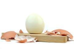 Gekookte eieren Royalty-vrije Stock Foto
