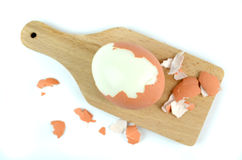 Gekookte eieren Royalty-vrije Stock Fotografie