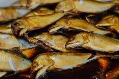 Gekookte, gestoofde vissen Royalty-vrije Stock Fotografie