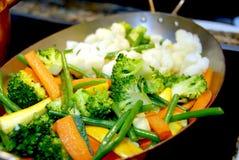 Gekookte groente Stock Foto's
