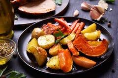 Gekookte groenten Royalty-vrije Stock Foto