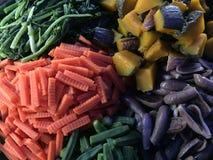 Gekookte groenten royalty-vrije stock fotografie