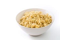 Gekookte quinoa Stock Afbeelding