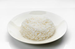 Gekookte rijst Royalty-vrije Stock Foto's