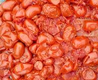Gekookte tomaten Royalty-vrije Stock Fotografie