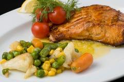Gekookte vissen Stock Fotografie