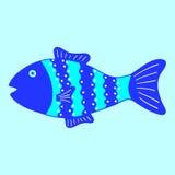 Gekopierte Fische Stockfotos