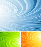 Gekräuselter abstrakter Vektor Lizenzfreie Stockfotografie