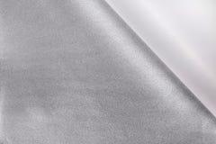 Gekräuselter Papiereckhintergrund Schale des Aufkleberpapiers für Ihren Entwurf stockfoto