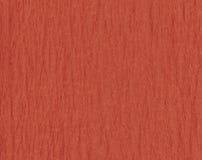 Gekräuseltes rotes Papier Stockfotografie