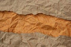 Gekrümmte (Papier) Beschaffenheit Stockbild