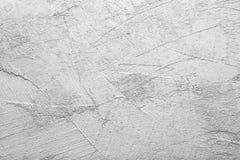 Gekrast muurpleister, het ruwe werk royalty-vrije stock afbeeldingen