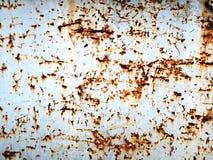 Gekrast Oud Rusty Grunge Metal Texture Background royalty-vrije stock foto's