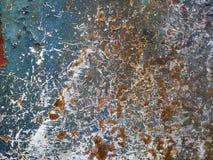 Gekrast Oud Rusty Grunge Metal Texture Background royalty-vrije stock afbeelding