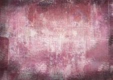 Gekrast uitstekend abstract grungethema met zwarte geschaafde randen Royalty-vrije Stock Fotografie