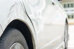 Gekraste auto Stock Afbeeldingen