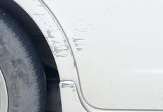 Gekraste auto stock afbeelding