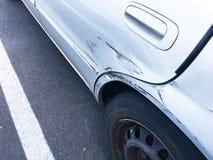 Gekraste autokleur stock afbeelding