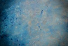 Gekraste concrete muur Stock Foto